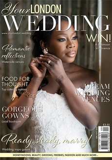Cover of Your London Wedding, September/October 2021 issue