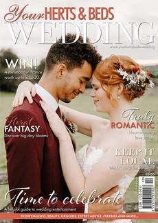 Cover of Your Herts & Beds Wedding, October/November 2021 issue