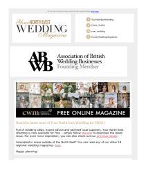 Your North East Wedding magazine - October 2021 newsletter