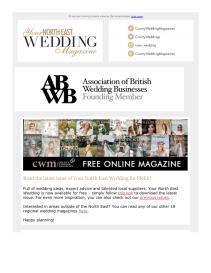 Your North East Wedding magazine - June 2021 newsletter