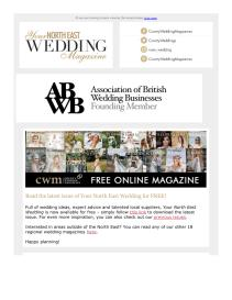 Your North East Wedding magazine - July 2021 newsletter