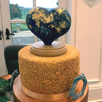 Sticky Sponge Cake Studio's announced as one of the top 50 cake designers in the country