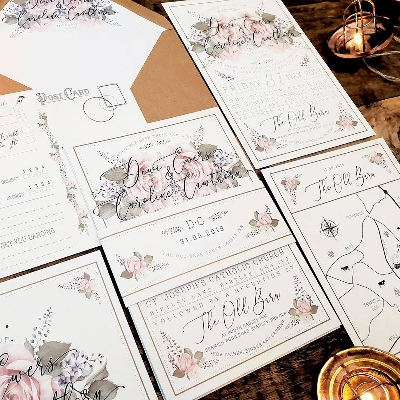 Learn how to match stationery to your wedding theme
