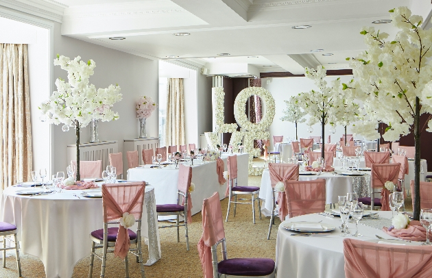 Durham Marriott Hotel Royal County reception space