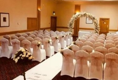 The reception space at Britannia Hotel Newcastle Airport
