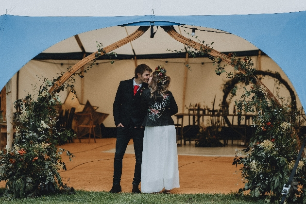 Discover wedding handmade tents in Newcastle: Image 1