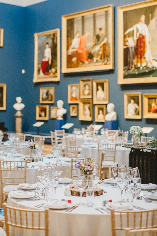 Reception space at The Bowes Museum