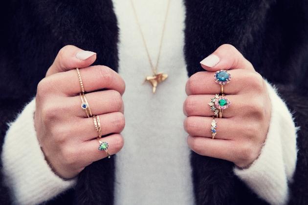 Stunning rings credit by Emma Hedley Ltd