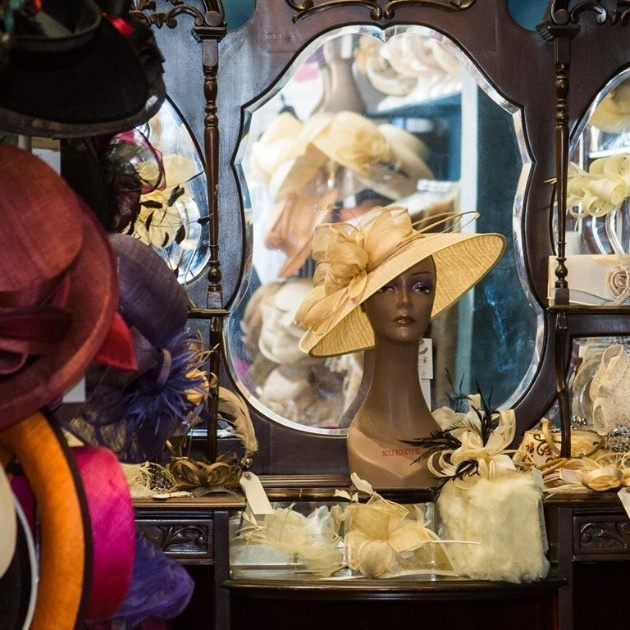 Accessories available at Hats & Glad Rags of Hexham
